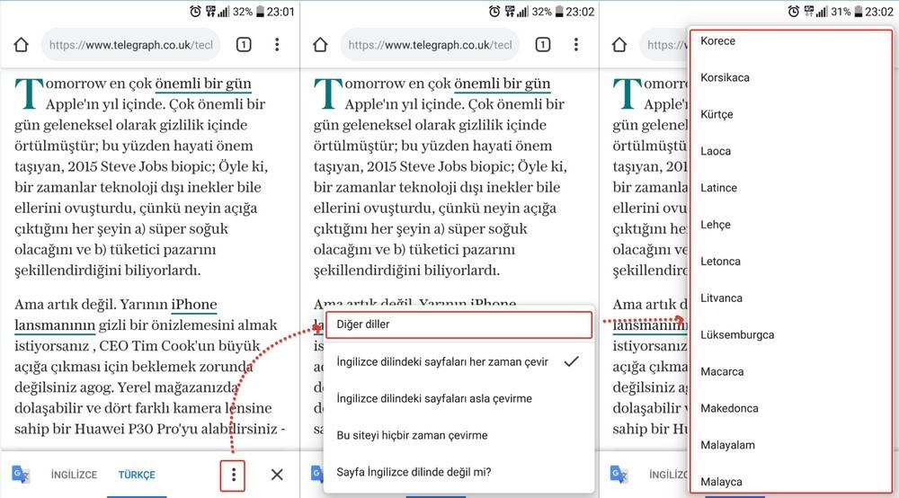 telefonda-internet-sayfasini-turkceye-cevirme